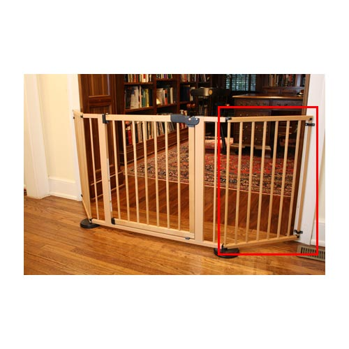 "Cardinal Gates VersaGate Hardware Mounted Pet Gate Extension Wood 20"" x 30.5""-Dog-Cardinal Gates-PetPhenom"