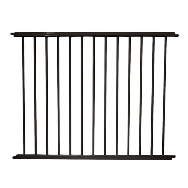 "Cardinal Gates VersaGate Hardware Mounted Pet Gate Extension Black 40"" x 30.5""-Dog-Cardinal Gates-PetPhenom"
