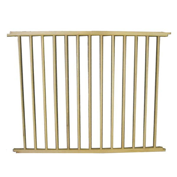"Cardinal Gates VersaGate Hardware Mounted Pet Gate Extension Wood 40"" x 30.5"""