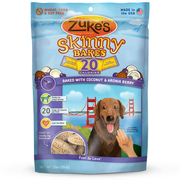 Zuke's Skinny Bakes 20's Coconut and Aronia 10 oz.-Dog-Zuke's-PetPhenom