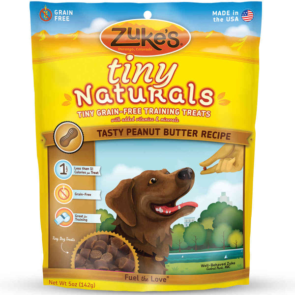 Zuke's Tiny Naturals Tasty Peanut Butter 5 oz.-Dog-Zuke's-PetPhenom