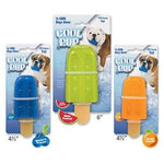 "Cool Pup Popsicle Toy - Mini 4-1/2"" - Orange-Dog-Cool Pup-PetPhenom"