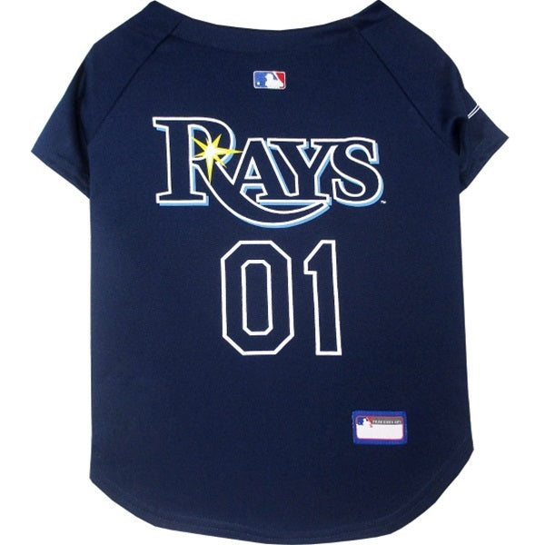 Pets First Tampa Bay Rays Pet Jersey - XXL-Sports Fans-Pets First-PetPhenom