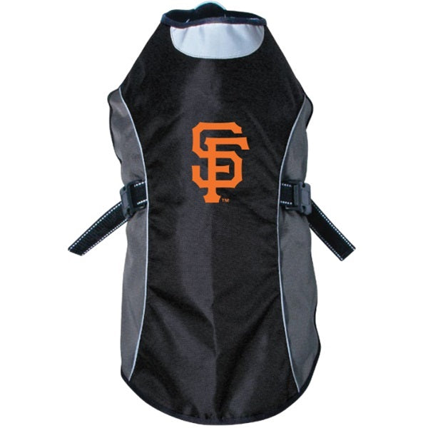 Hunter San Francisco Giants Water Resistant Reflective Pet Jacket - X-Large-Sports Fans-Hunter-PetPhenom