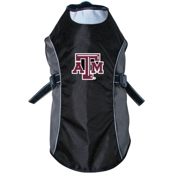 Hunter Texas A&M Aggies Water Resistant Reflective Pet Jacket - X-Large-Sports Fans-Hunter-PetPhenom