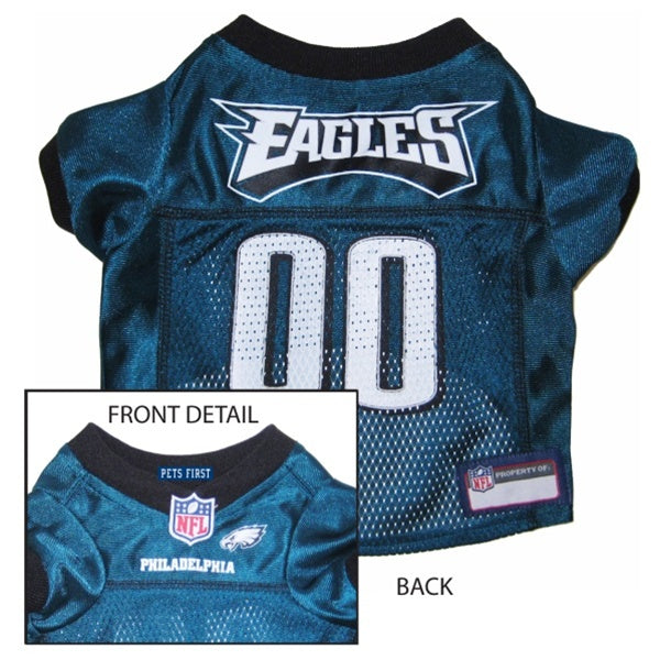 Pets First Philadelphia Eagles Dog Jersey - XX-Large-Sports Fans-Pets First-PetPhenom