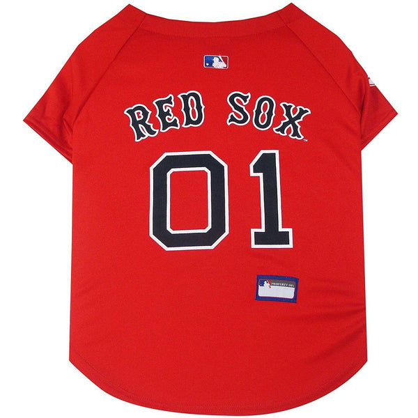 Pets First Boston Red Sox Pet Jersey - 3XL-Sports Fans-Pets First-PetPhenom
