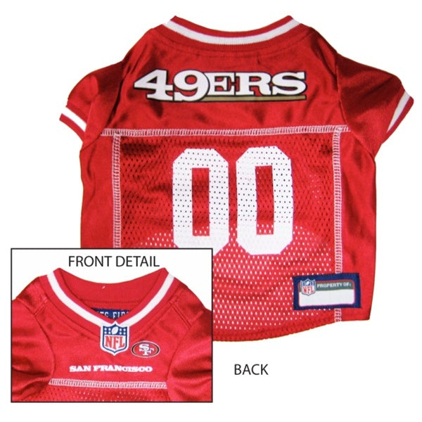 Pets First San Francisco 49ers Dog Jersey - XX-Large-Sports Fans-Pets First-PetPhenom