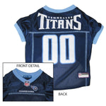 Pets First Tennessee Titans Dog Jersey - XX-Large-Sports Fans-Pets First-PetPhenom