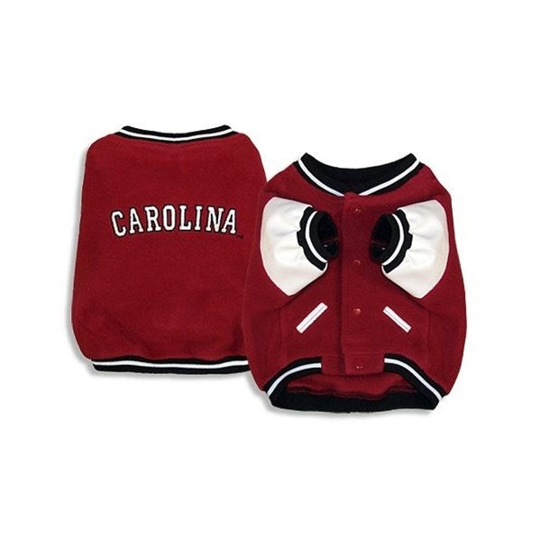 SportyK9 South Carolina Varsity Dog Jacket - X-Large-Sports Fans-SportyK9-PetPhenom