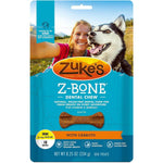 Zuke's Z-Bones Grain Free Edible Dental Chews Clean Carrot Crisp 18 count Small-Dog-Zuke's-PetPhenom