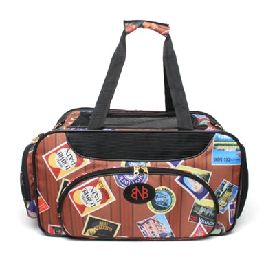 bark n bag® Old World Traveler Weekender Pet Carrier -Medium-Dog-bark n bag®-PetPhenom