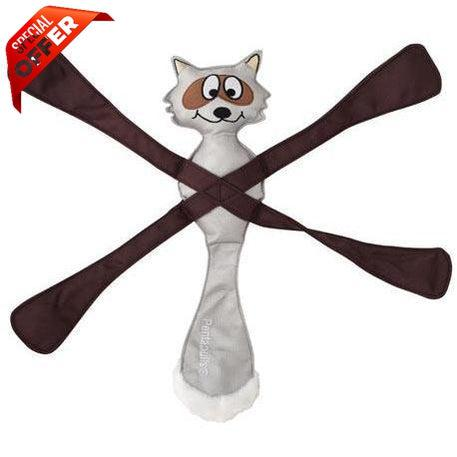 Doggles® Raccoon Pentapull® Toy-Dog-Doggles®-PetPhenom