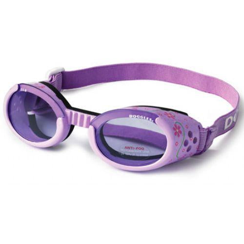 Doggles® Lilac Doggles ILS with Flowers & Purple Lens -Small-Dog-Doggles®-PetPhenom