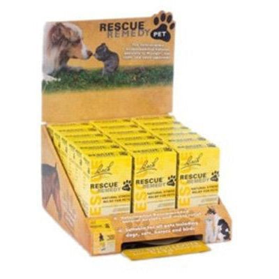 Rescue Remedy Pet Nelson Bach Rescue Remedy Pet, 18 piece Display (12x 10mL, 6x 20mL)-Dog-Rescue Remedy Pet-PetPhenom