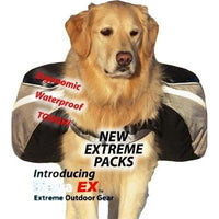 Doggles® Backpack Extreme Gray/Black -Large-Dog-Doggles®-PetPhenom