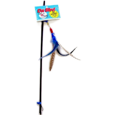 Go Cat Da Bird Pull Apart Rod & Bird-Cat-Go Cat-PetPhenom