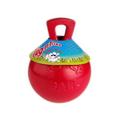 "Jolly Pets, Inc. The Tug-n-Toss™ - 4.5"" -Red (#JT445RD)-Dog-Jolly Pets, Inc.-PetPhenom"