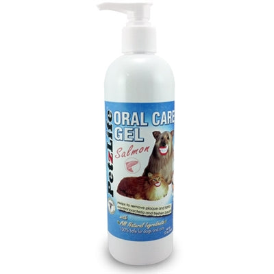 PetzLife PetzLife Oral Care GEL w/Salmon Oil REFILL - 12 ounce-Dog-PetzLife-PetPhenom