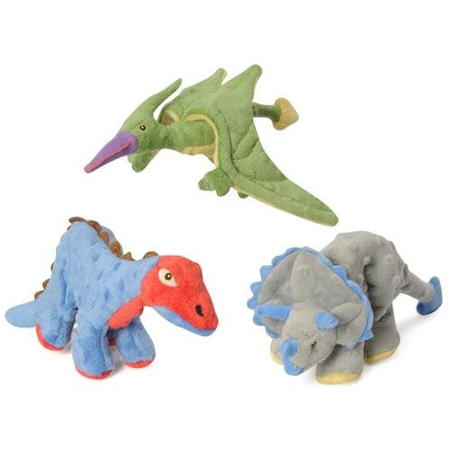 GoDog™ Toys Mini Dinos with Chew Guard™ Technology -Mini Triceratops-Dog-GoDog™ Toys-PetPhenom