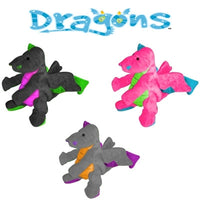 GoDog™ Toys Dragon Toys with Chew Guard™ - Small - Pink-Dog-GoDog™ Toys-PetPhenom