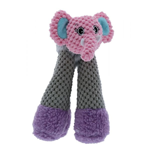 Play 365 Doggy Long Legs Toy -Play 365 Doggy Long Legs Elephant L-Dog-Play 365-PetPhenom