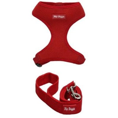 Hip Doggie Inc. Red Ultra Comfort Mesh Harness Vests by Hip Doggie -XS-Dog-Hip Doggie Inc.-PetPhenom