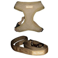 Hip Doggie Inc. Tan Ultra Comfort Mesh Harness Vests by Hip Doggie -XS-Dog-Hip Doggie Inc.-PetPhenom
