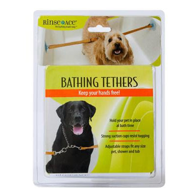 RINSE ACE® Rinse Ace Pet Bathing Tethers with 2 Straps-Dog-RINSE ACE®-PetPhenom