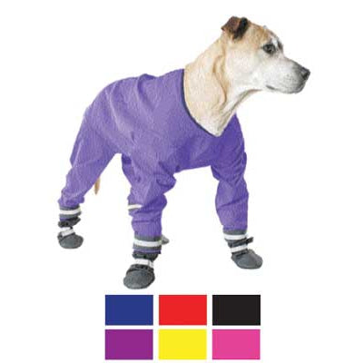 Muttluks Dog Jog Rainsuit - Size 20 - Purple-Dog-Muttluks-PetPhenom