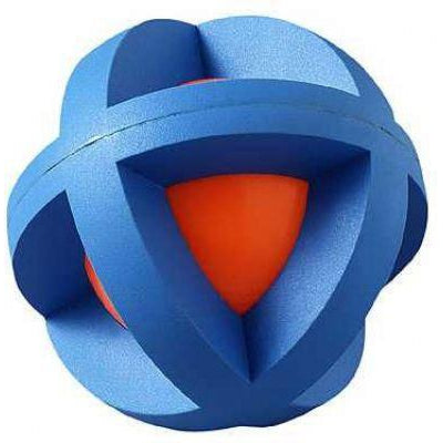 "MultiPet BOINGO BALL™ (Plastic Sphere Covered by Rubber Grippers) -Large (5"")-Dog-MultiPet-PetPhenom"