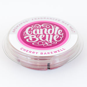 Candle Belle® Aromapod® Cherry Bakewell Fragranced Wax Melt 48g (9 Pack) - Candle Belle® Trade