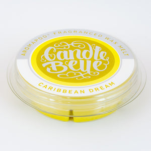 Candle Belle® Aromapod® Caribbean Dream Fragranced Wax Melt 48g (9 Pack) - Candle Belle® Trade