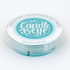 Candle Belle® Aromapod® Doodlebug Fragranced Wax Melt 48g (9 Pack) - Candle Belle® Trade