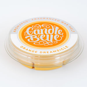 Candle Belle® Aromapod® Orange Dreamsicle Fragranced Wax Melt 48g (9 Pack) - Candle Belle® Trade