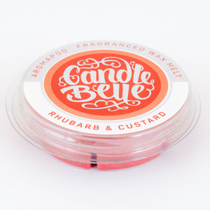 Candle Belle® Aromapod® Rhubarb & Custard Fragranced Wax Melt 48g (9 Pack)