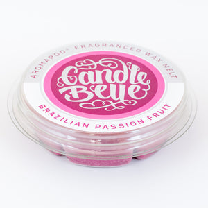Candle Belle® Aromapod® Brazilian Passion Fruit Fragranced Wax Melt 48g (9 Pack) - Candle Belle® Trade