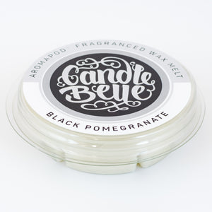 Candle Belle® Aromapod® DECO Black Pomegranate Fragranced Wax Melt 48g (9 Pack) - Candle Belle® Trade