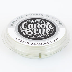 Candle Belle® Aromapod® DECO Orchid Jasmine Rose Fragranced Wax Melt 48g (9 Pack) - Candle Belle® Trade