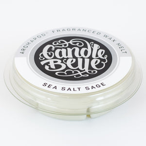 Candle Belle® Aromapod® DECO Sea Salt Sage Fragranced Wax Melt 48g (9 Pack) - Candle Belle® Trade