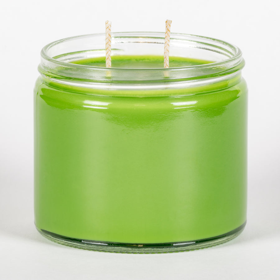 Candle Belle® Key Lime Pie Fragranced Twin Wick Jar Candle 240g (3 Pack)