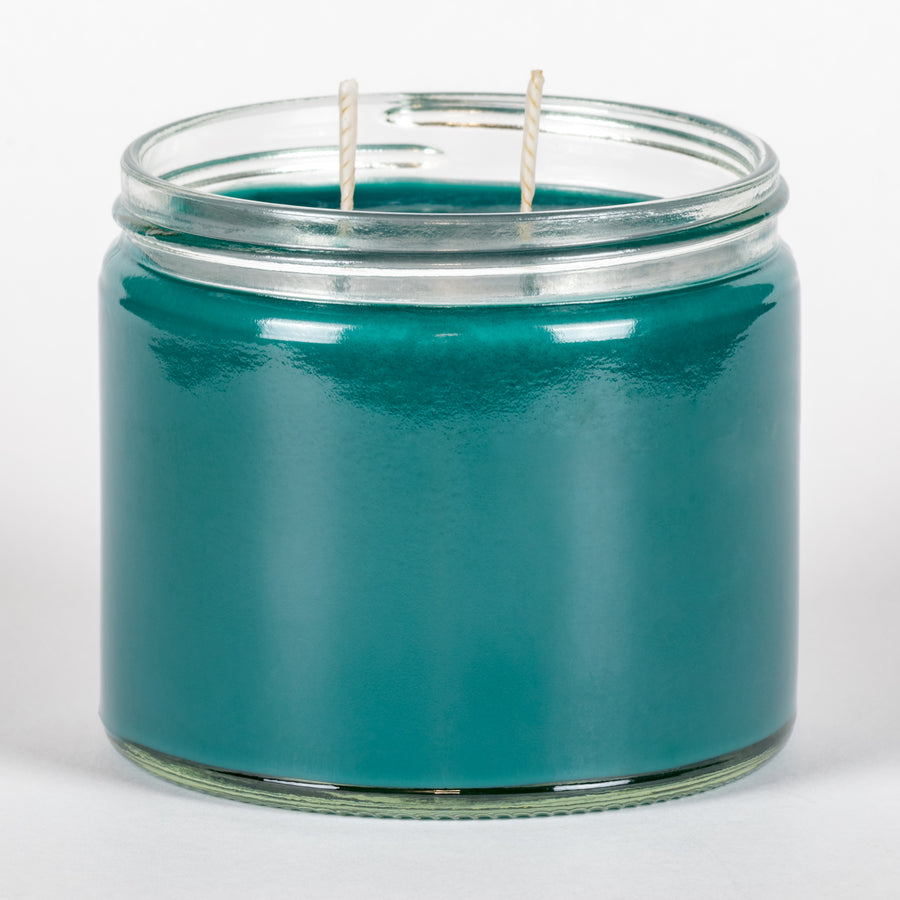Candle Belle® Turquoise Sky Fragranced Twin Wick Jar Candle 240g (3 Pack)