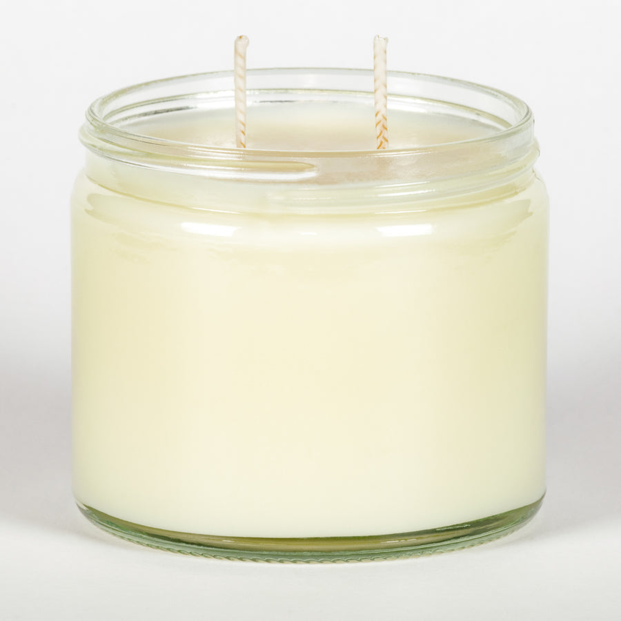 Candle Belle® DECO Peppermint Jasmine Fragranced Twin Wick Jar Candle 240g (3 Pack)