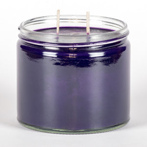 Candle Belle® Parma Violets Fragranced Twin Wick Jar Candle 240g (3 Pack)