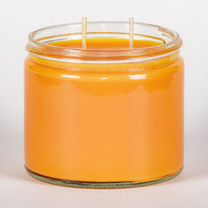 Candle Belle® Peach Bellini Fragranced Twin Wick Jar Candle 240g (3 Pack)