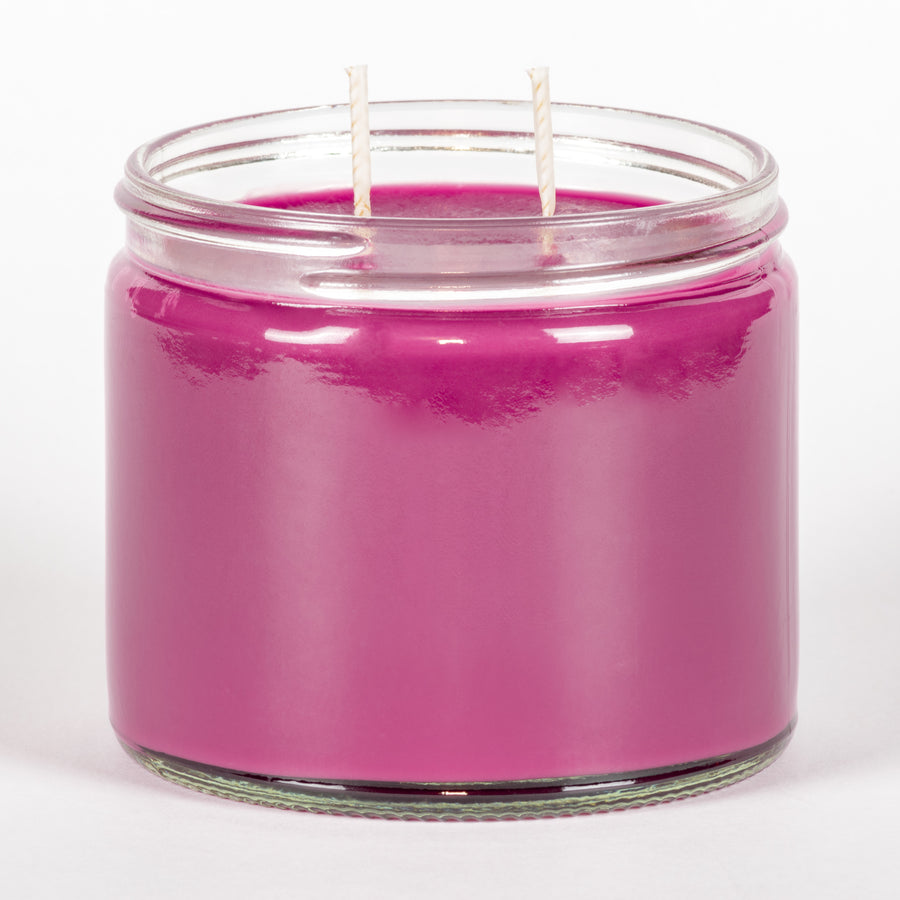 Candle Belle® Bubblicious Fragranced Twin Wick Jar Candle 240g (3 Pack)