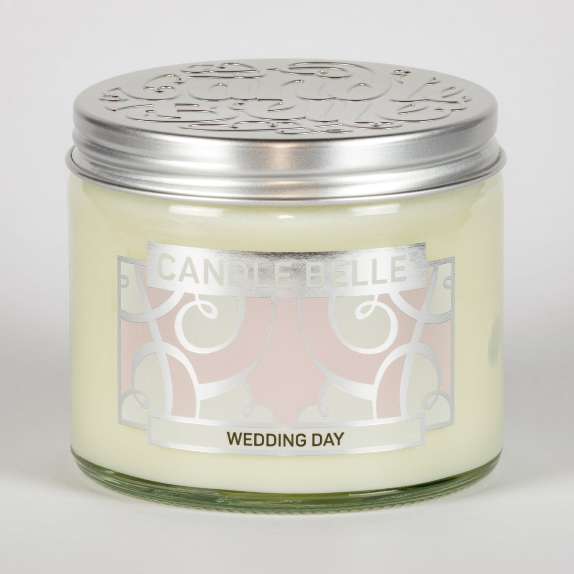 Candle Belle® Wedding Day Fragranced Twin Wick Jar Candle 240g (3 Pack)