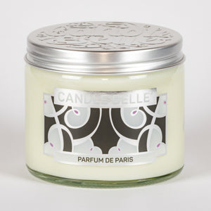 Candle Belle® DECO Parfum De Paris Fragranced Twin Wick Jar Candle 240g (3 Pack)