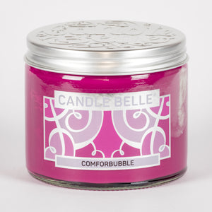 Candle Belle® Comforbubble Fragranced Twin Wick Jar Candle 240g (3 Pack)