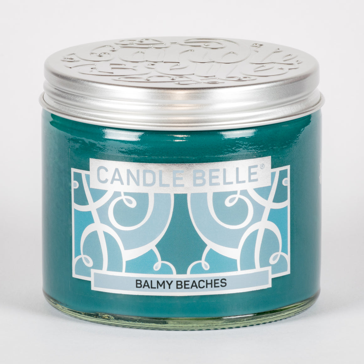 Candle Belle® Balmy Beaches Fragranced Twin Wick Jar Candle 240g (3 Pack)